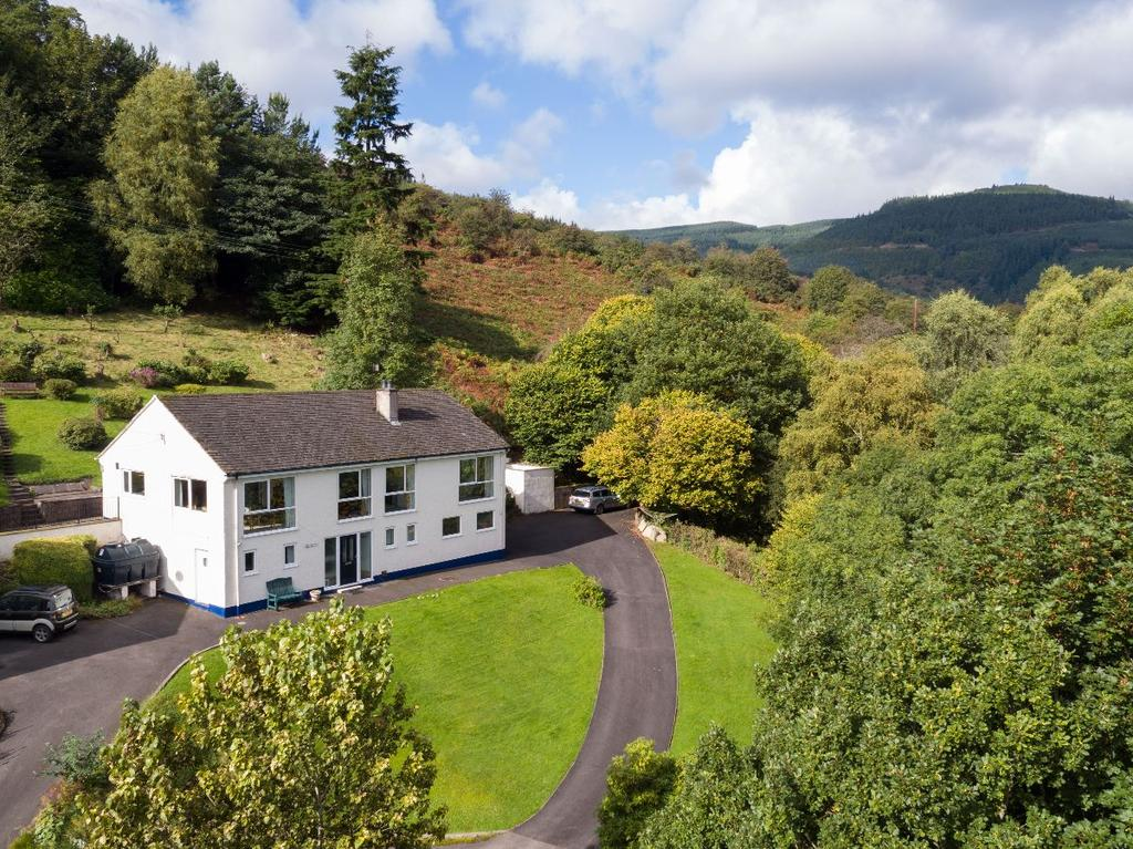 4 Bedrooms Detached House for sale in Wychwood, How Lane, Braithwaite, Keswick, CA12 5SZ