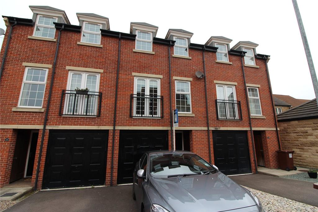 3 Bedrooms Town House for sale in Long Pye Close, Woolley Grange, Barnsley, S75