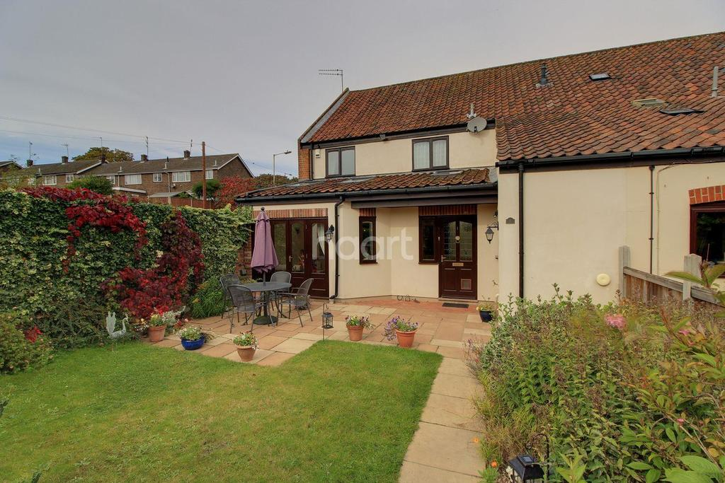 3 Bedrooms End Of Terrace House for sale in Leas Court, Hellsdon Road, Norwich