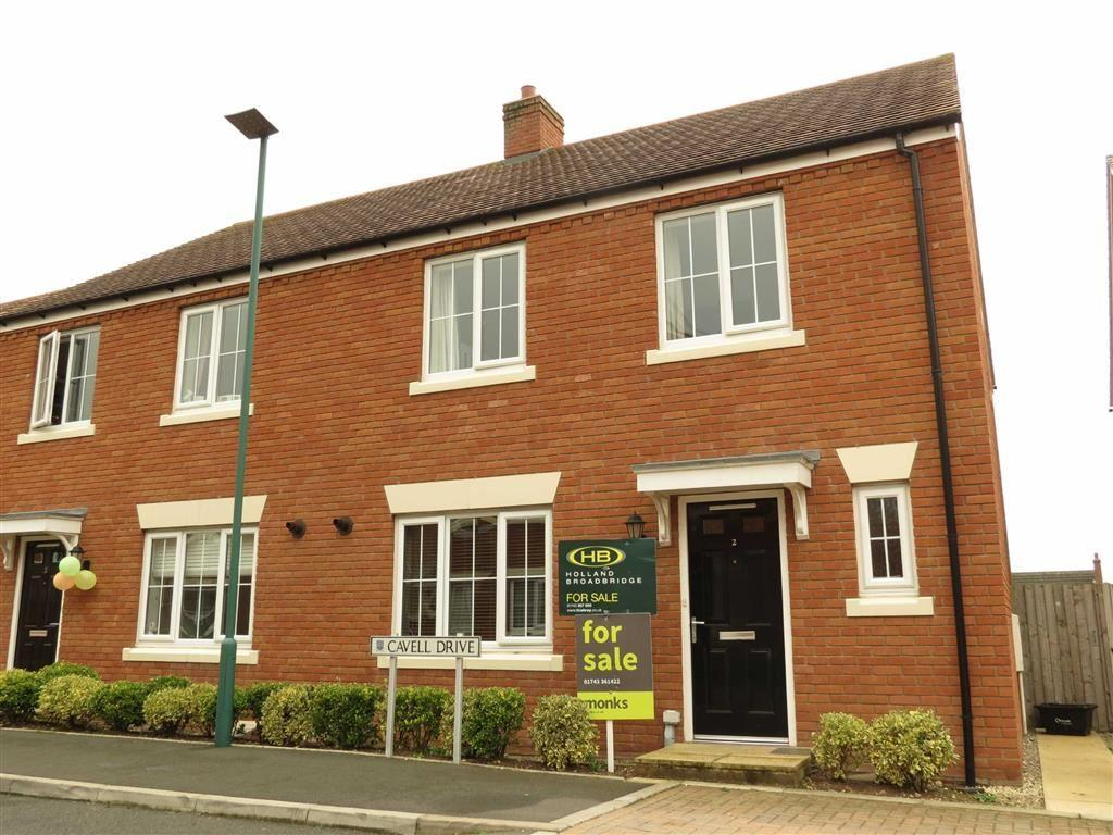 4 Bedrooms Semi Detached House for sale in Cavell Drive, Copthorne, Shrewsbury, Shropshire