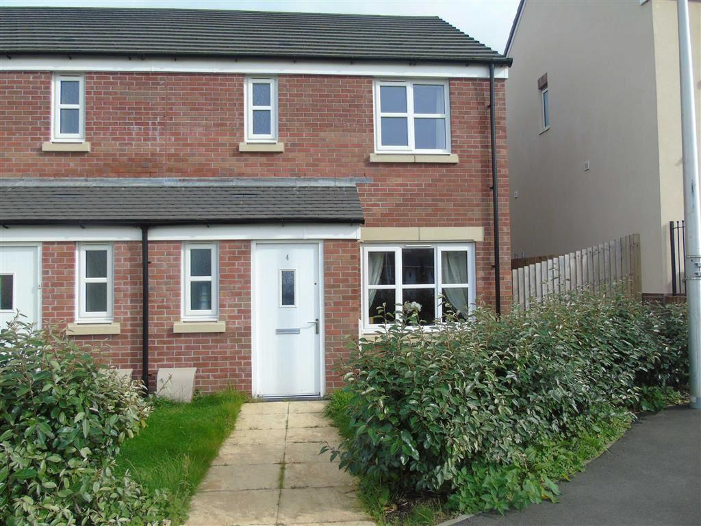 3 Bedrooms End Of Terrace House for sale in Ty Canol, Carway, Llanelli