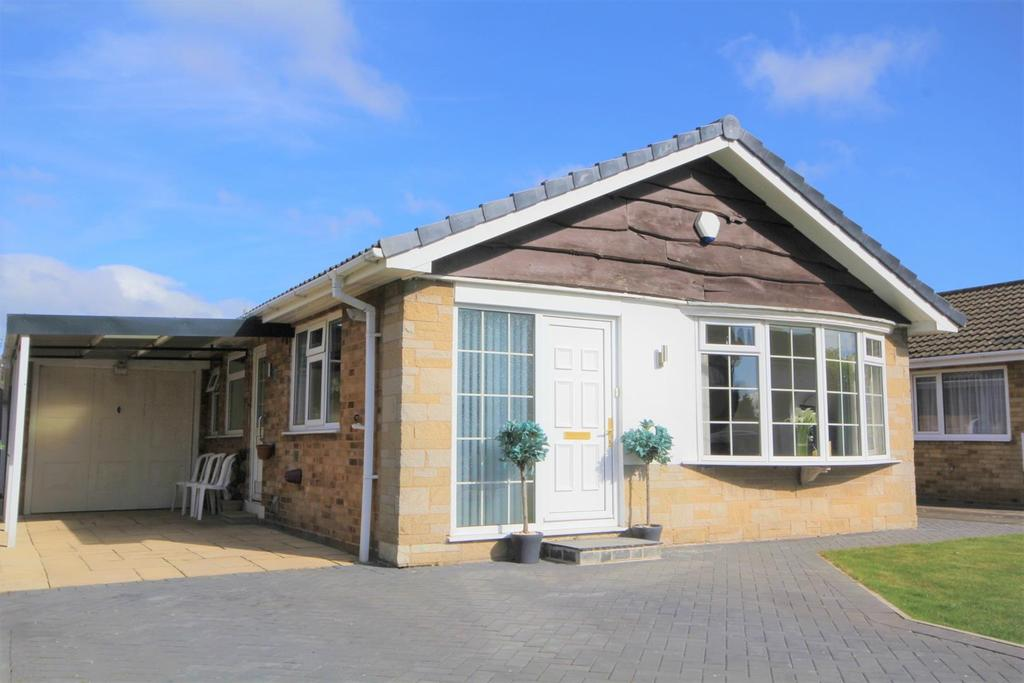 2 Bedrooms Detached Bungalow for sale in Hunterswood Way, Dunnington, York, YO19 5RA