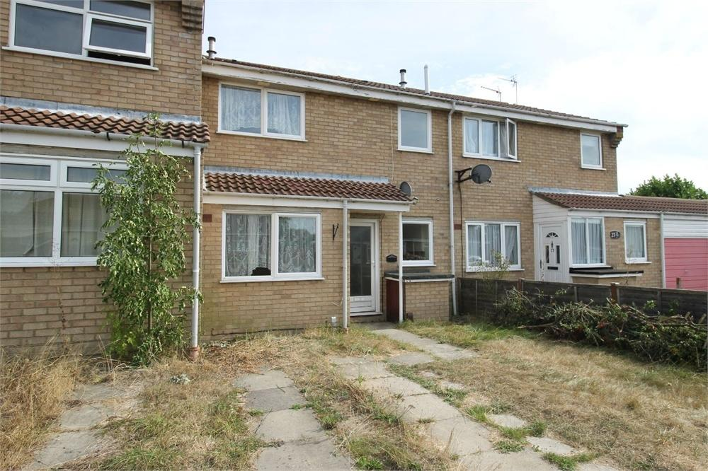 1 Bedroom Terraced House for sale in Kingfisher Close, COLCHESTER, Essex