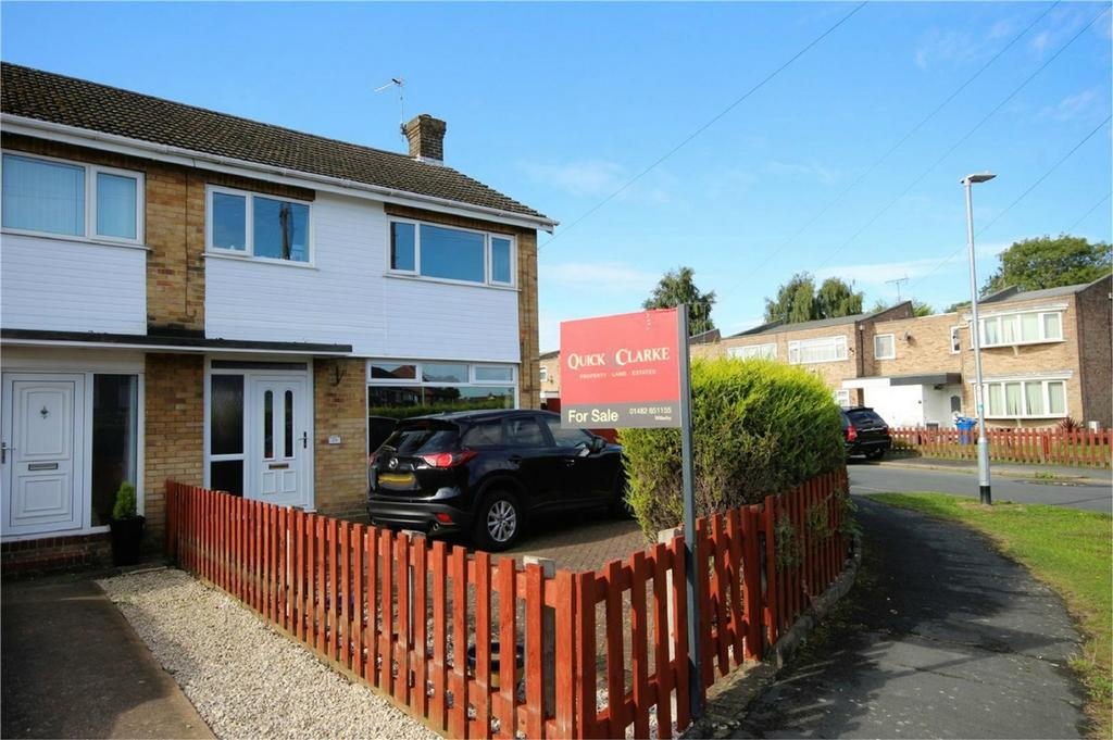 3 Bedrooms End Of Terrace House for sale in Overton Avenue, Willerby, Hull, East Riding of Yorkshire