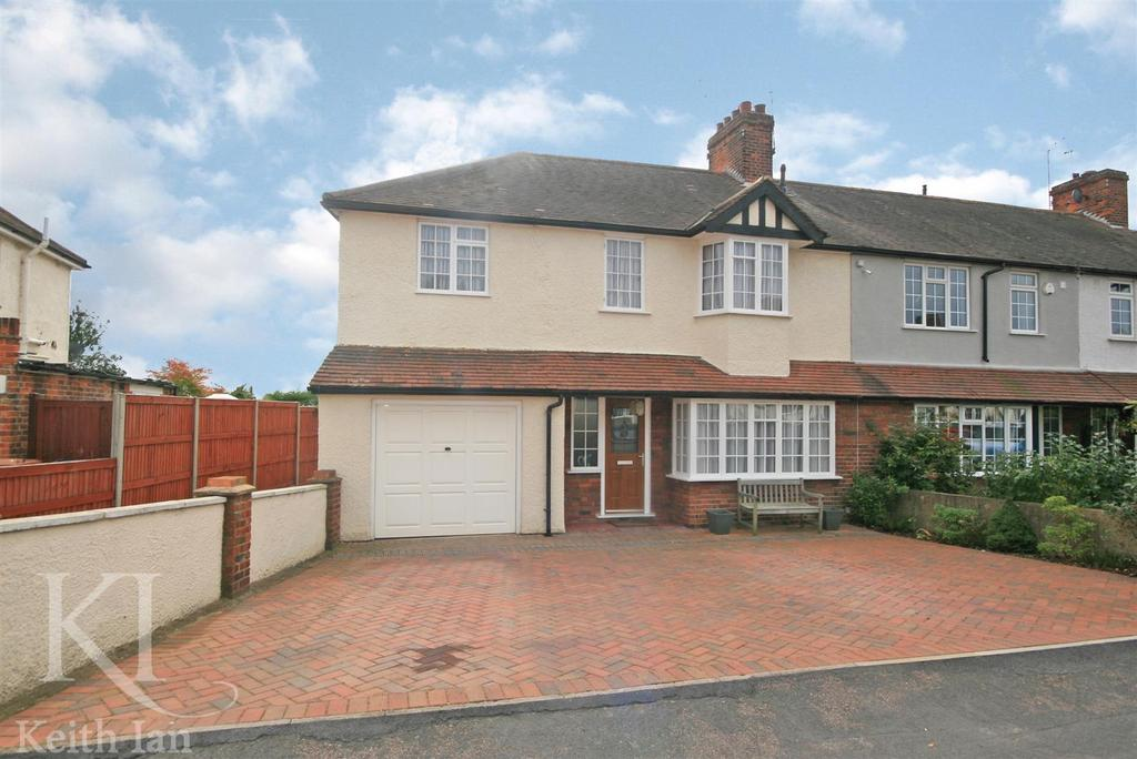 4 Bedrooms End Of Terrace House for sale in 1930's Property in Fanshawe Crescent, Ware