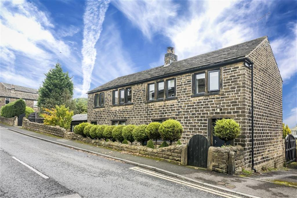 3 Bedrooms Detached House for sale in Far Bank, Shelley, Huddersfield, HD8