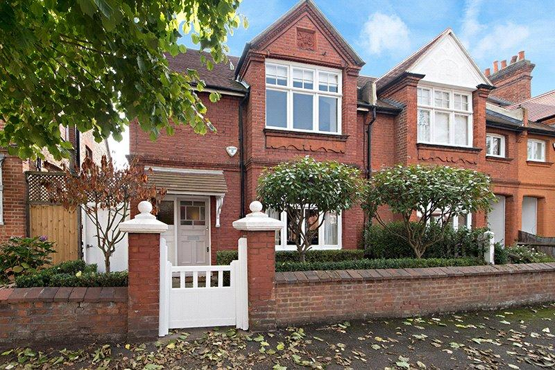 4 Bedrooms Semi Detached House for sale in Fielding Road, Chiswick, London, W4