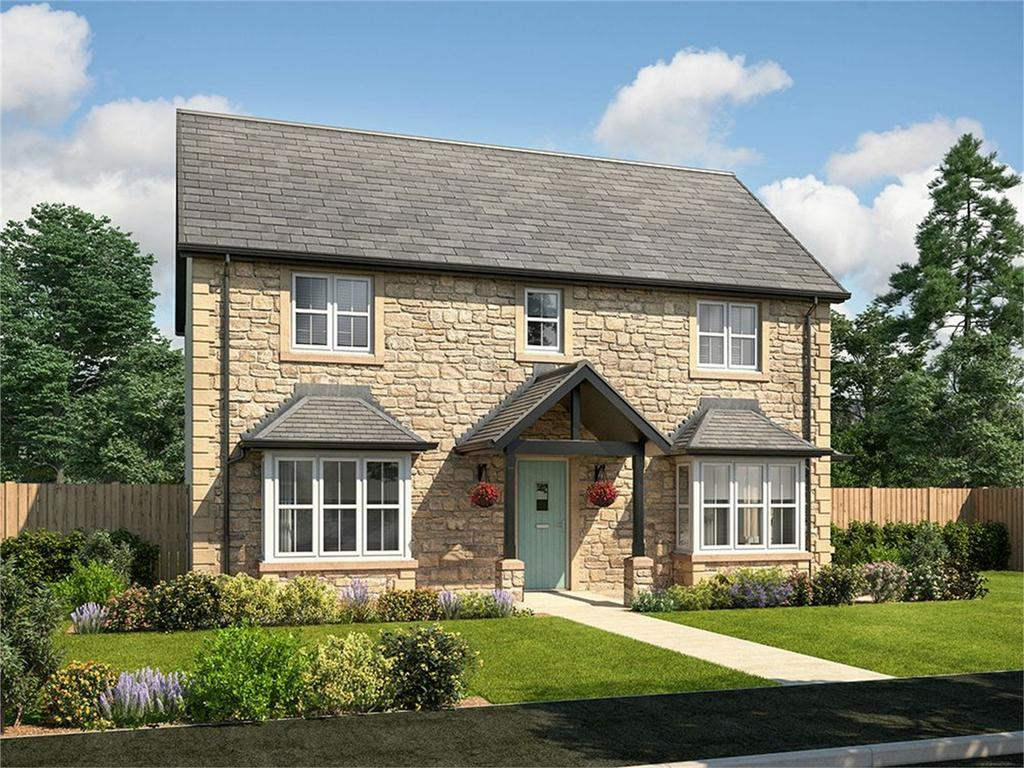 4 Bedrooms Detached House for sale in Chancel Place, Longhoughton, Alnwick, Northumberland