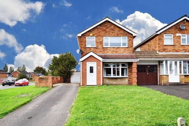 3 Bedrooms Detached House for sale in Dursley Close,Willenhall,Wolverhampton