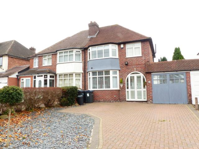 3 Bedrooms Semi Detached House for sale in Banners Gate Road,Sutton Coldfield,West Midlands