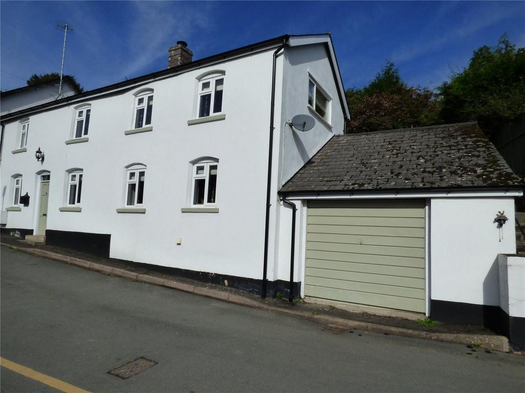 2 Bedrooms Semi Detached House for sale in George Road, The Cwm, Knighton, Powys