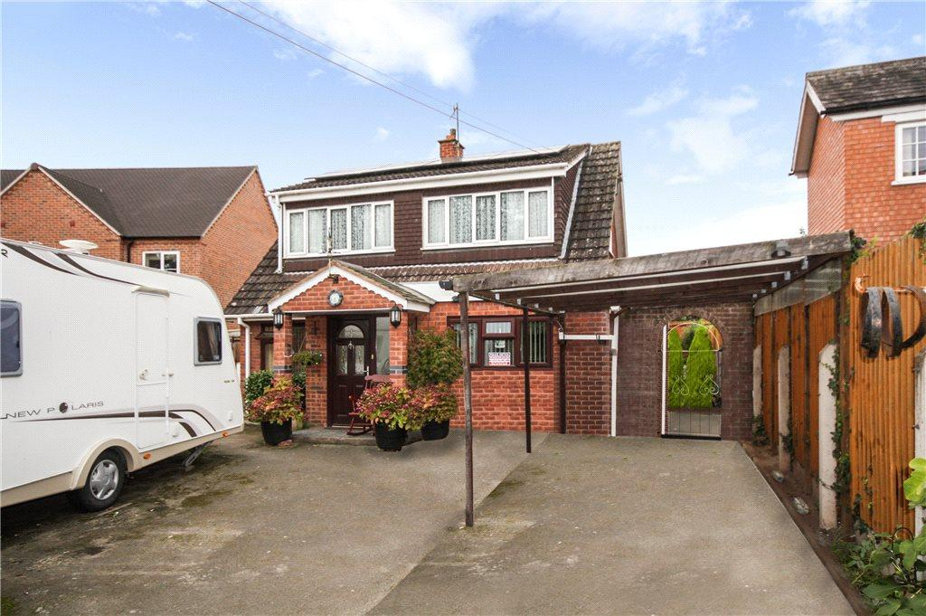 3 Bedrooms Detached House for sale in Old Road North, Kempsey, Worcester, Worcestershire, WR5