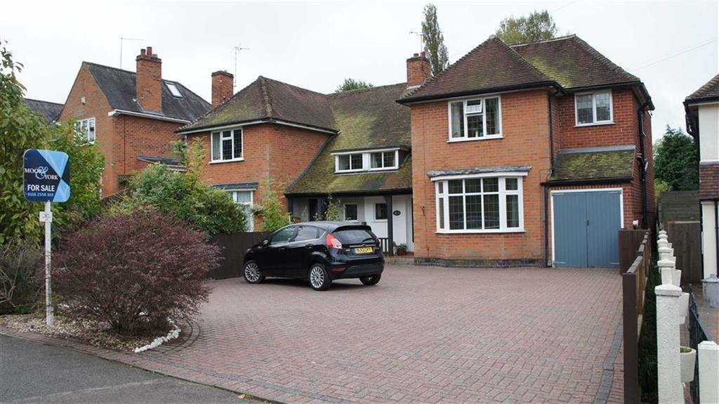 4 Bedrooms Semi Detached House for sale in Leicester Road, Glenfield