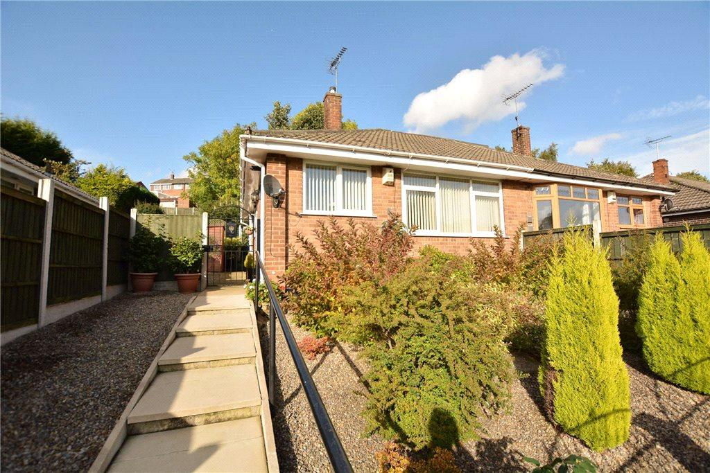 2 Bedrooms Semi Detached Bungalow for sale in Spring Valley Crescent, Leeds, West Yorkshire