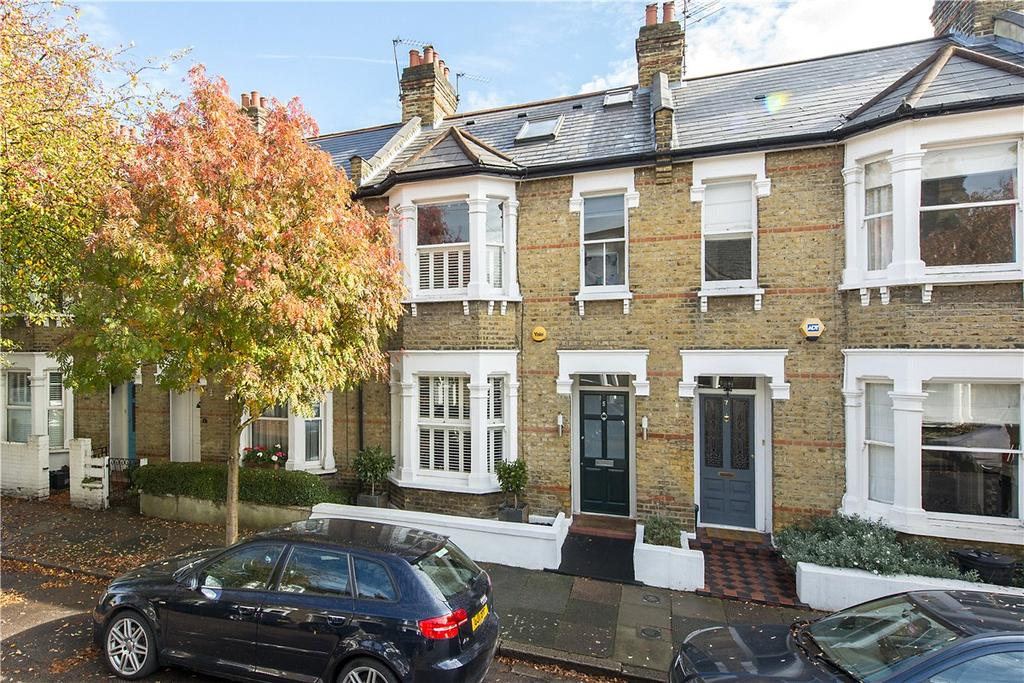 3 Bedrooms Terraced House for sale in Buxton Road, London, SW14