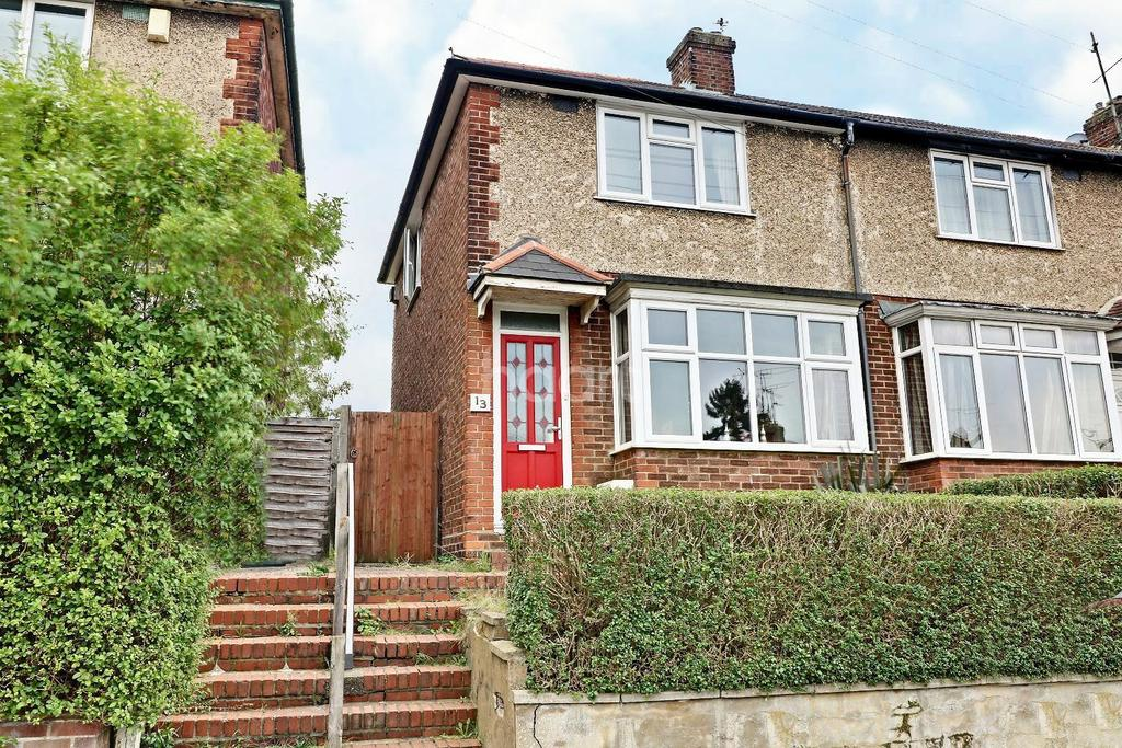 2 Bedrooms End Of Terrace House for sale in Rise Up In Round Green
