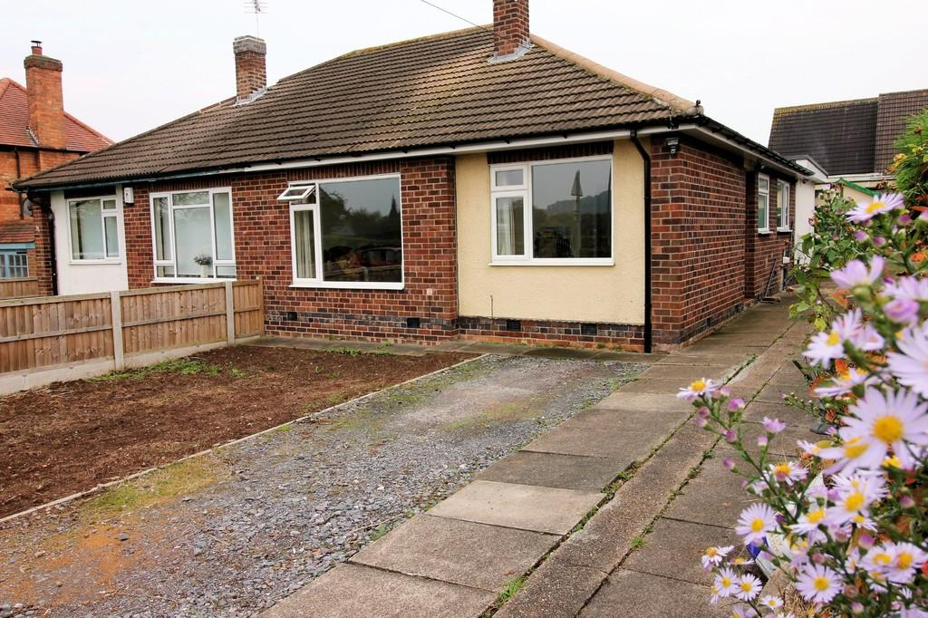 2 Bedrooms Semi Detached Bungalow for sale in Kegworth Road, Gotham