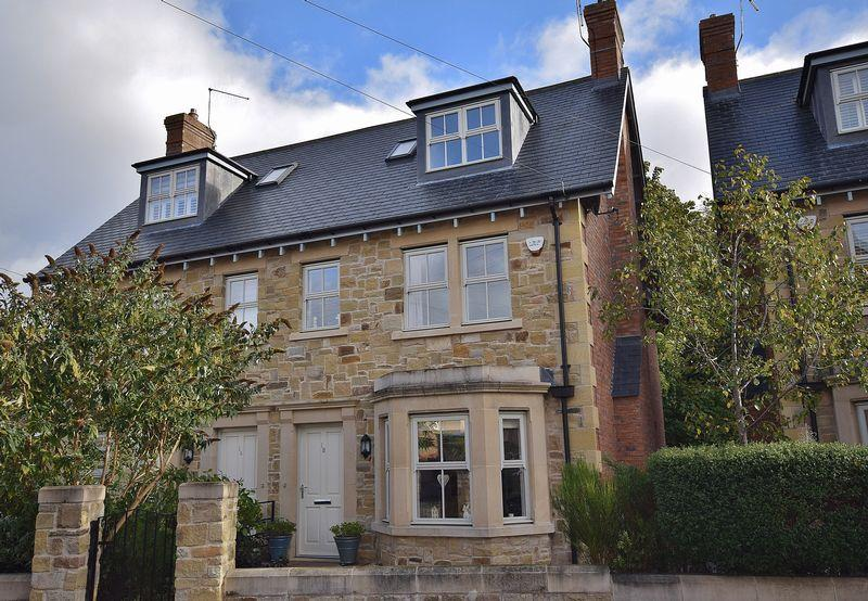4 Bedrooms Semi Detached House for sale in Shaftoe Crescent, Hexham