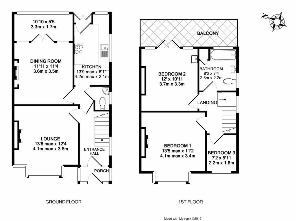 Floorplan: 153 Maidenway Road