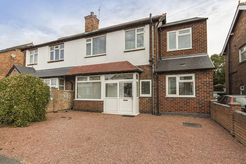 4 Bedrooms Semi Detached House for sale in WESTERN ROAD, MICKLEOVER
