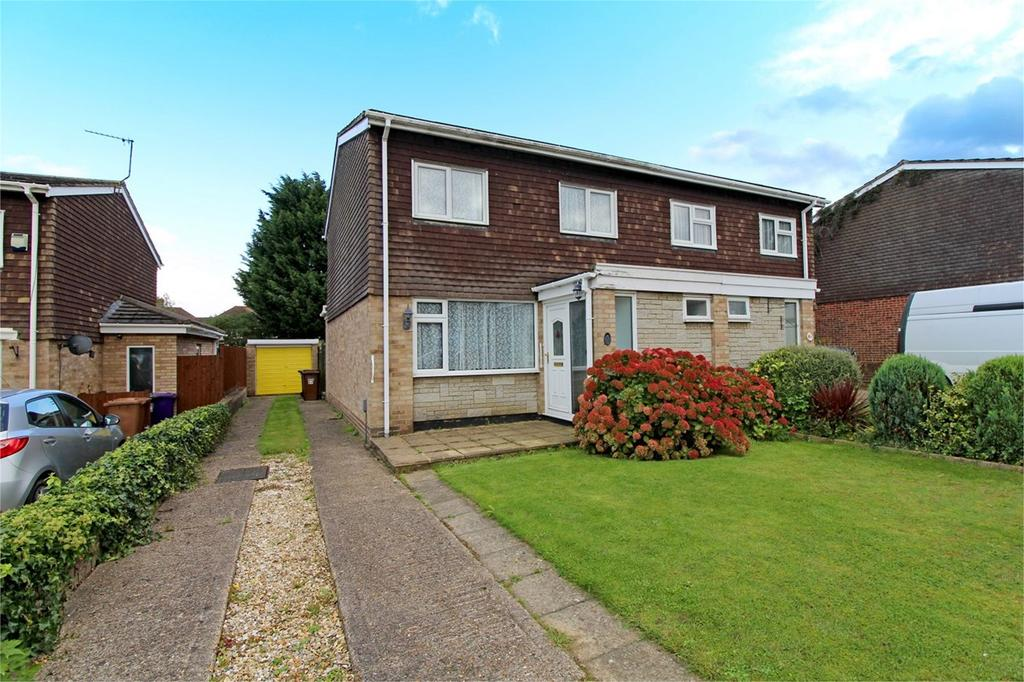 3 Bedrooms Semi Detached House for sale in Romany Close, Letchworth Garden City, SG6