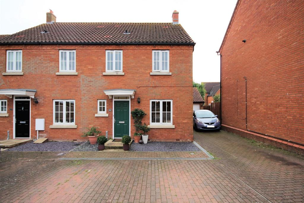 3 Bedrooms End Of Terrace House for sale in Bluebell Drive, Lower Stondon, Henlow, SG16