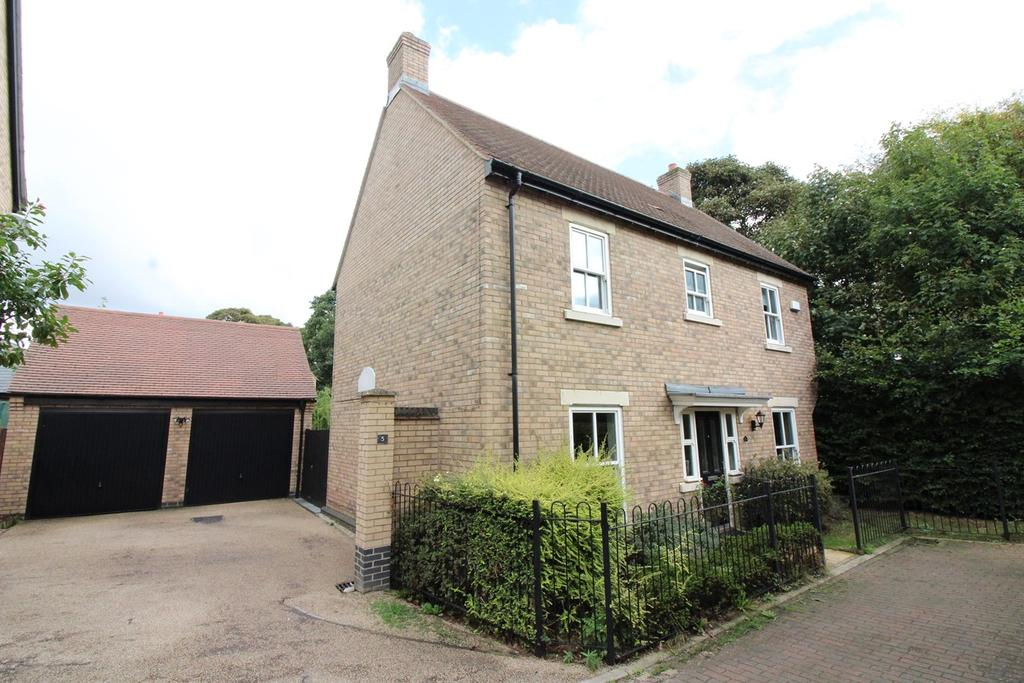 4 Bedrooms Detached House for sale in Gladstone Drive, Stotfold, Hitchin, SG5