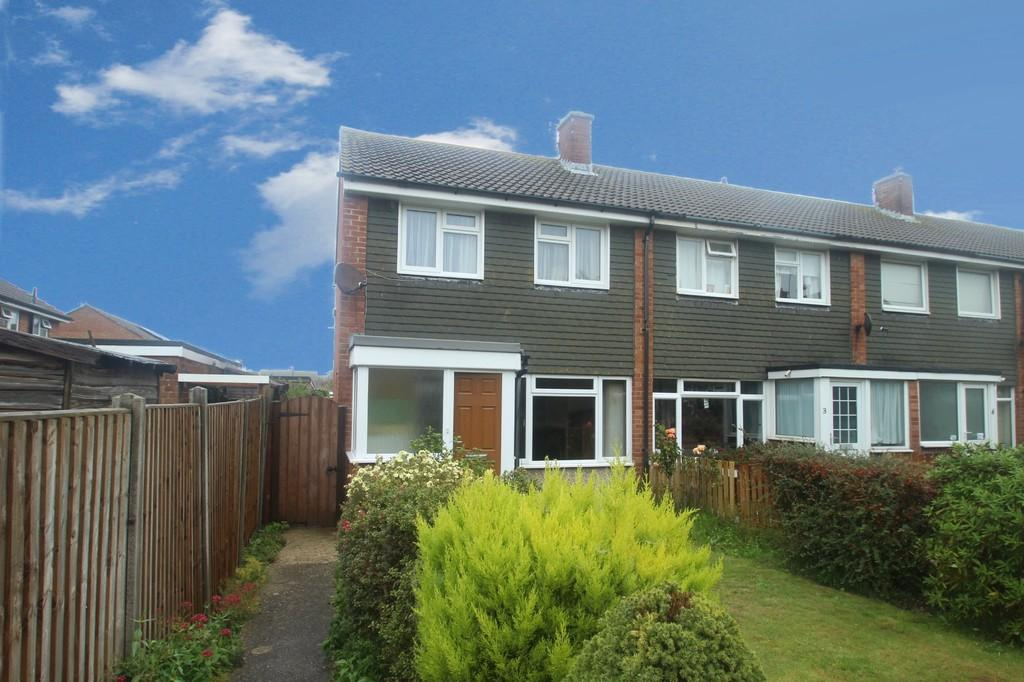 3 Bedrooms End Of Terrace House for sale in Parham Close, Rustington