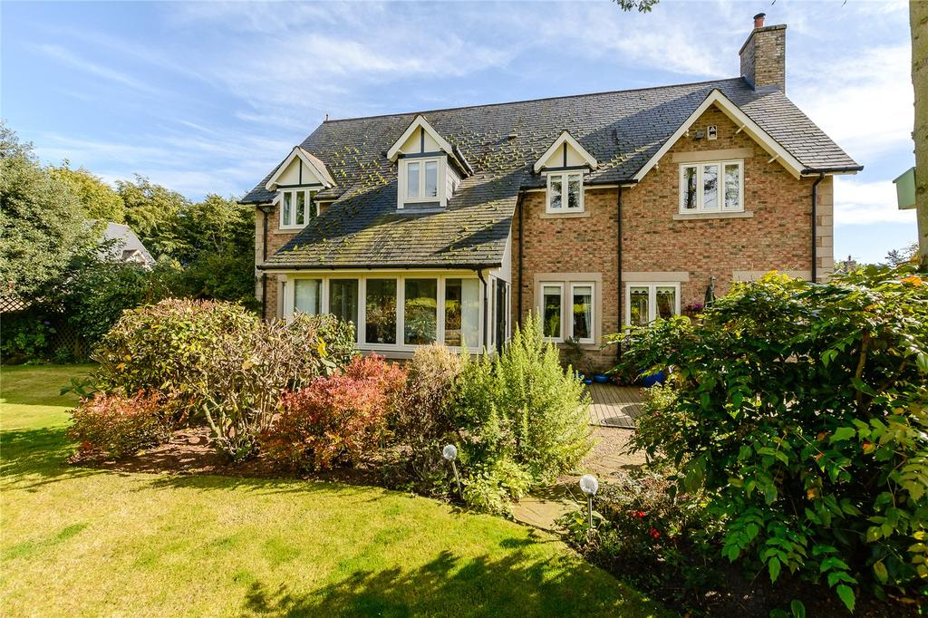 5 Bedrooms Detached House for sale in Bainbridge Lane, Eshott, Morpeth, Northumberland