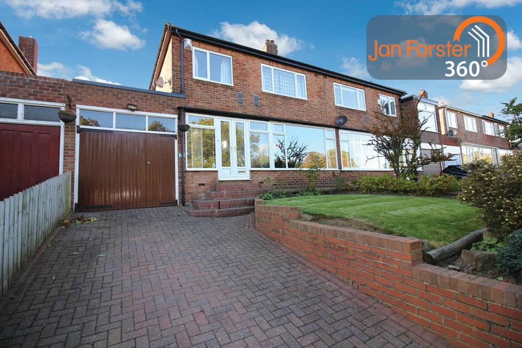3 Bedrooms Semi Detached House for sale in Great North Road, Brunton Park, Newcastle Upon Tyne