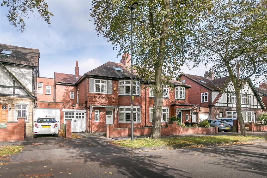 5 Bedrooms Semi Detached House for sale in Towers Avenue, Jesmond, Newcastle upon Tyne
