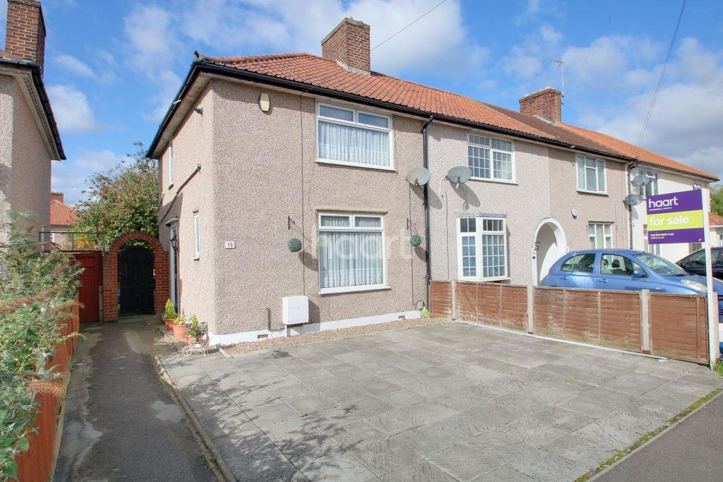 2 Bedrooms End Of Terrace House for sale in David Road, Dagenham