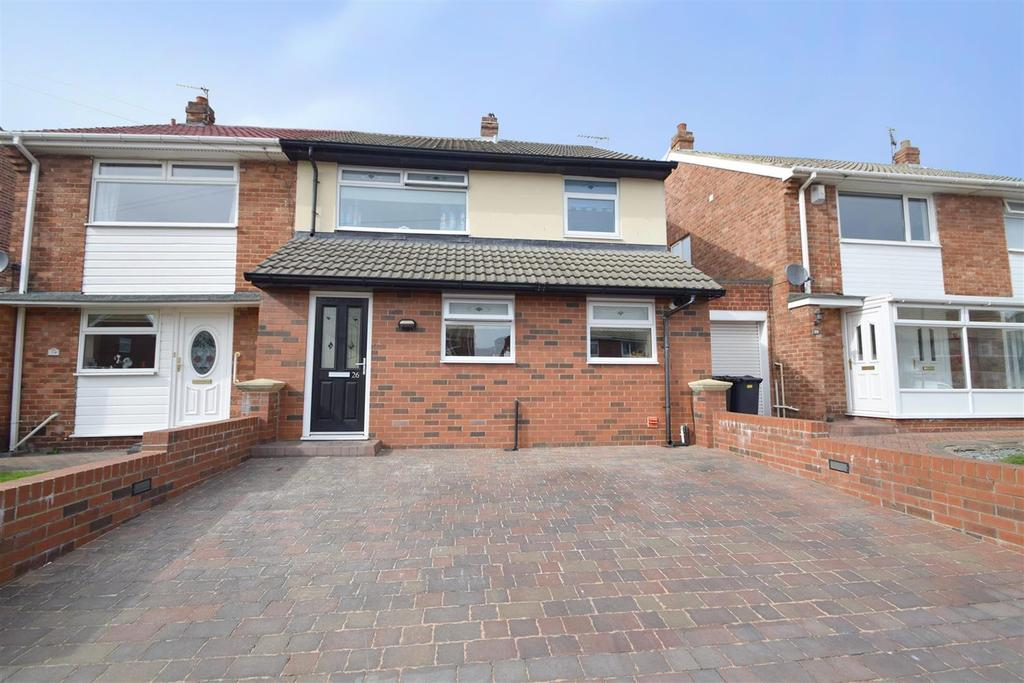 3 Bedrooms Semi Detached House for sale in St. Anselm Road, North Shields
