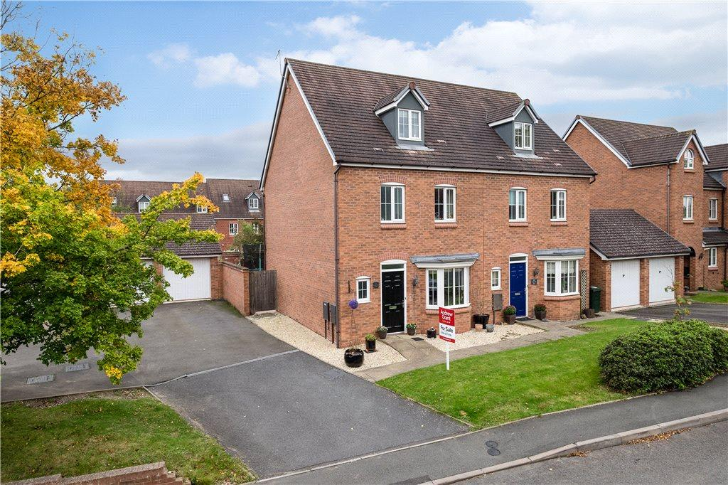 4 Bedrooms Semi Detached House for sale in Catherton Road, Cleobury Mortimer, Kidderminster, Shropshire, DY14