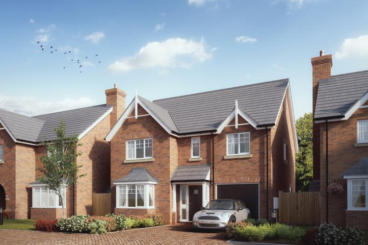 4 Bedrooms Detached House for sale in Plot 13, The Rippon, Chetwynd, Newport, TF10 7JZ