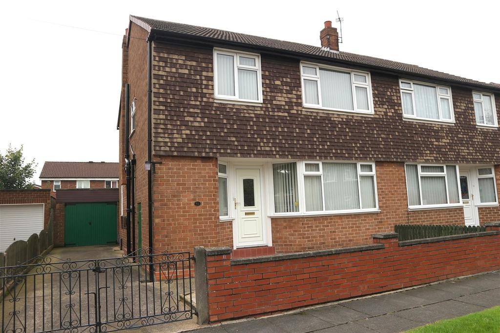 3 Bedrooms Semi Detached House for sale in Kirkfield Road, Darlington