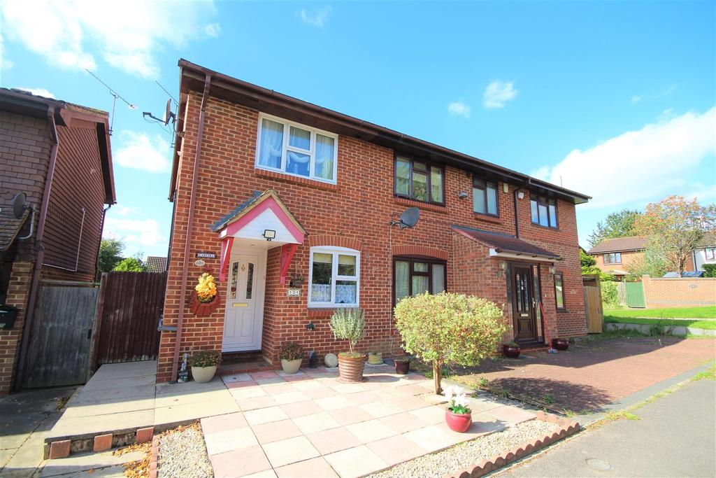 2 Bedrooms Semi Detached House for sale in Fleetham Gardens, Lower Earley, Reading