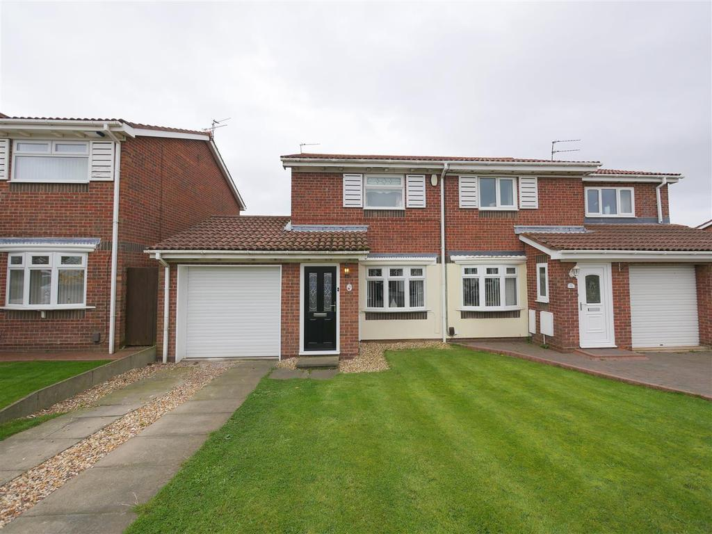 2 Bedrooms Semi Detached House for sale in Woburn Drive, Broadway Grange, Sunderland