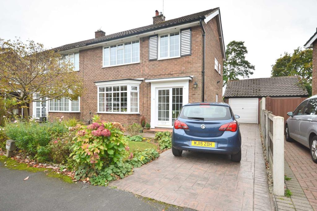 3 Bedrooms Semi Detached House for sale in SDDYAL GREEN, Bramhall