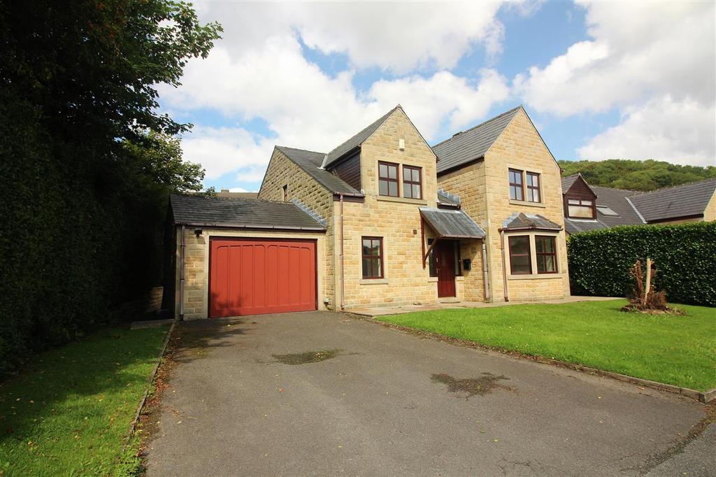 4 Bedrooms Detached House for sale in Tree Tops, Off Brier Hey Lane, Mytholmroyd, Hebden Bridge