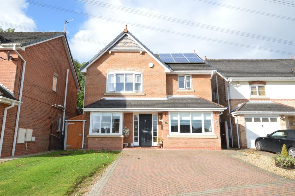 4 Bedrooms Detached House for sale in 15 Sheridan Way, Runcorn, WA7