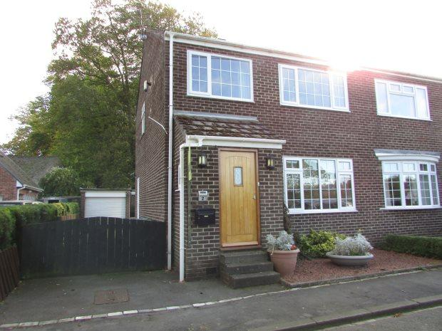 3 Bedrooms Semi Detached House for sale in HAGG LANE, BYERS GREEN, SPENNYMOOR DISTRICT