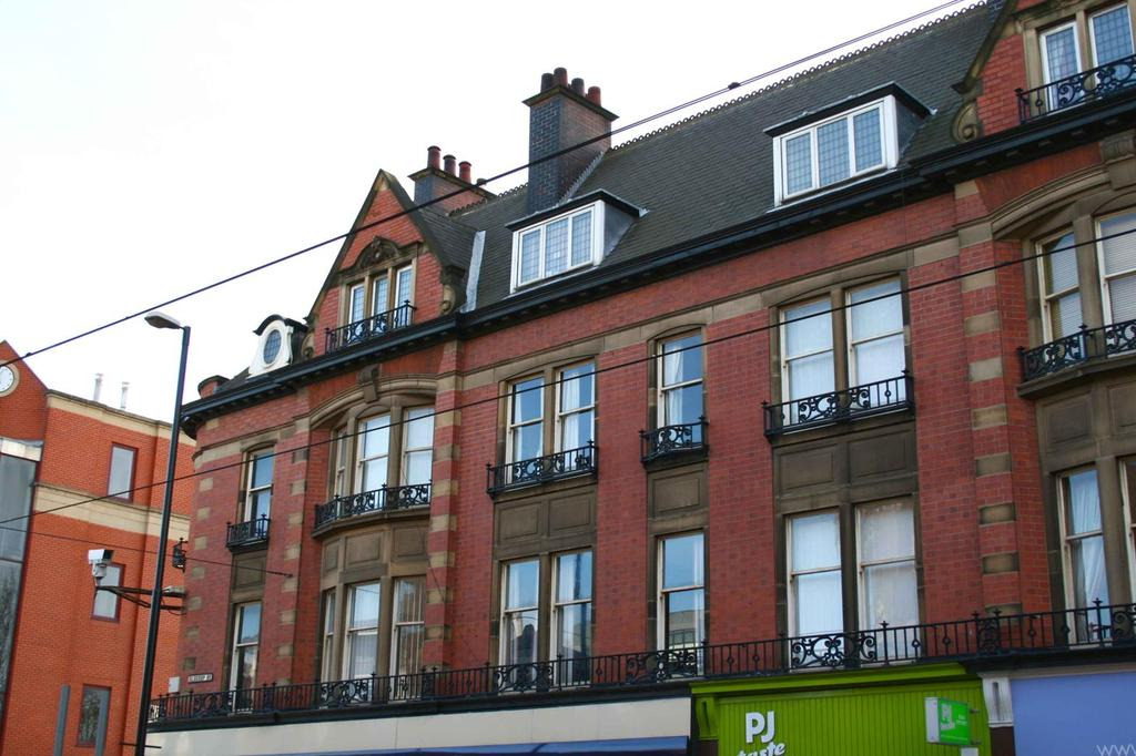 4 Bedrooms Maisonette Flat for rent in Westminster Chambers, Gell Street, Sheffield S3