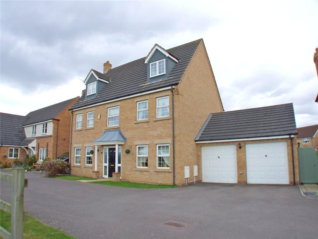 5 Bedrooms Detached House for sale in Harlequin Drive, Spalding, Lincolnshire, PE11