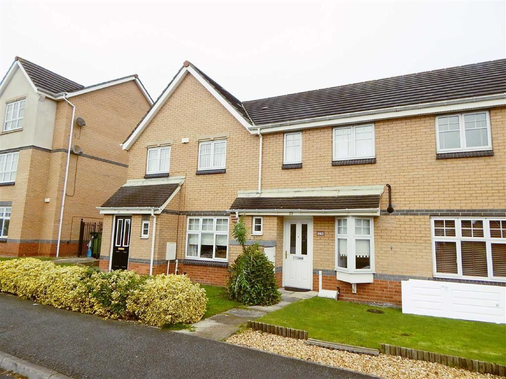 2 Bedrooms Terraced House for sale in Caesar Way, St Peters Park, Wallsend, NE28