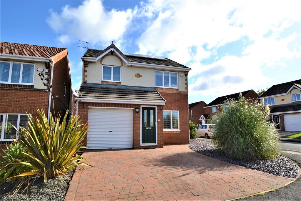 3 Bedrooms Detached House for sale in Clover Court, Spennymoor