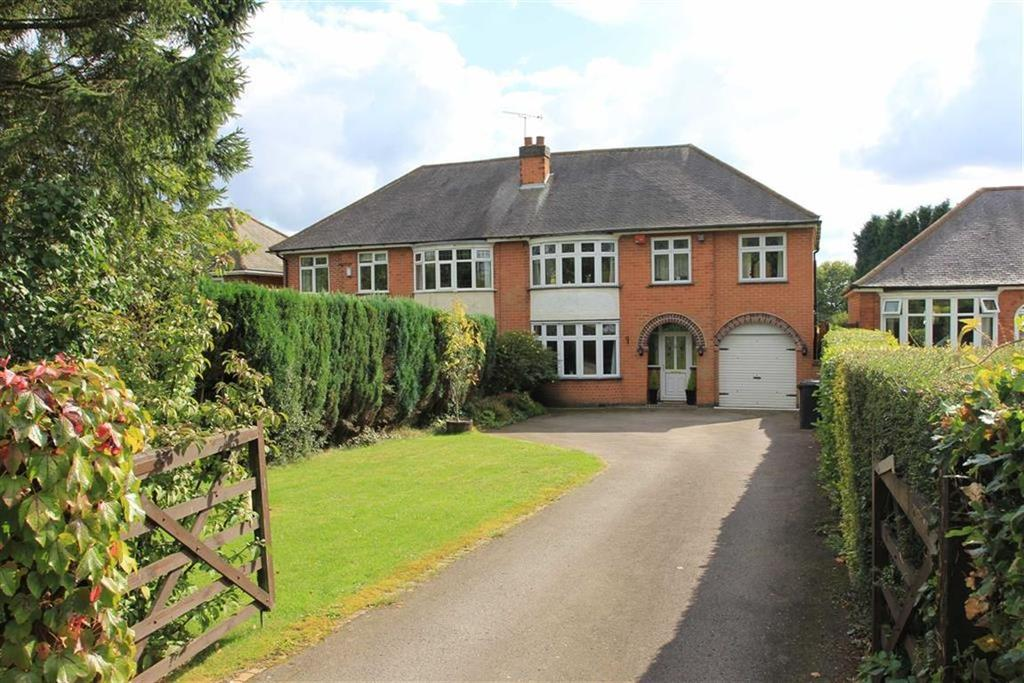 4 Bedrooms Semi Detached House for sale in Markfield Lane, Markfield, Leicestershire