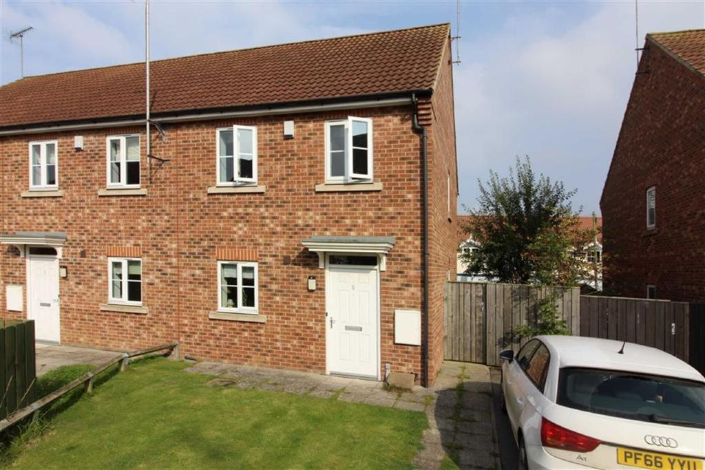 2 Bedrooms End Of Terrace House for sale in Mill Chase, Nafferton, East Yorkshire