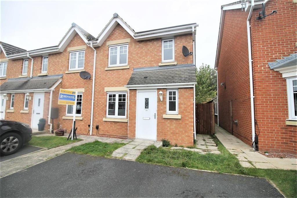 3 Bedrooms End Of Terrace House for sale in Wensleydale Gardens, Thornaby