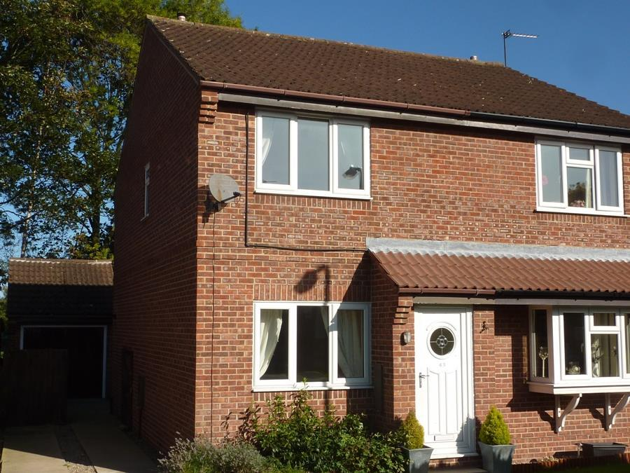 2 Bedrooms Semi Detached House for sale in Scholla View, Northallerton